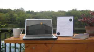writing at the river 015