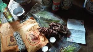 la receta y cosas de la botanica