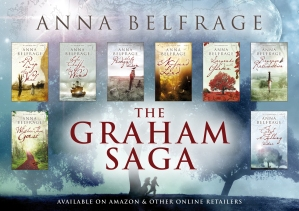 Anna Belfrage series of books image