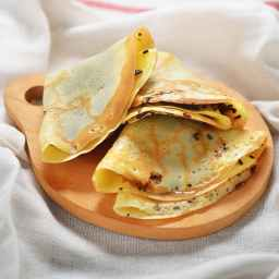 cooked crepe